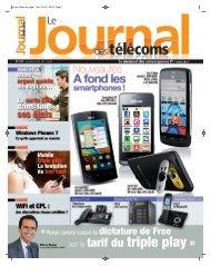 Projet1:Mise en page 1 26/11/2010 - JdT - Le Journal Des Télécoms