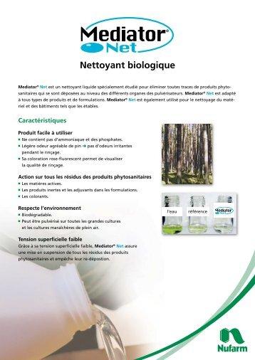 Nettoyant biologique - Nufarm