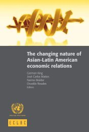 The changing nature of Asian-Latin American economic relations
