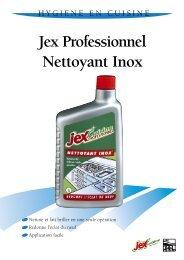 JEX PRO NETTOYANT INOX