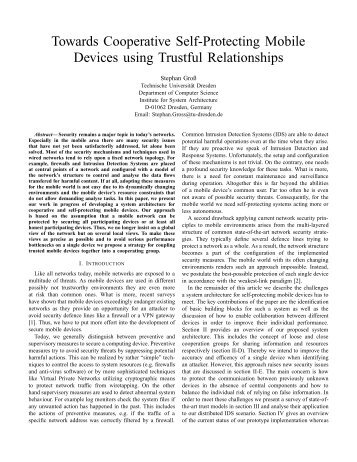 View - Computer Networks - Technische Universität Dresden