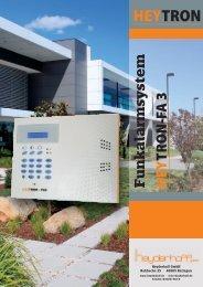 Download des Heytron Prospekts - Heyderhoff GmbH