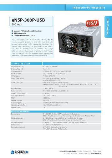 eNSP-300P-USB - Bicker Elektronik