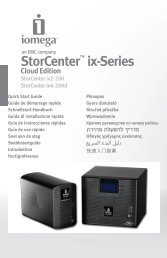 StorCenter™ ix-Series Cloud Edition - Iomega