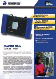 UniPRO Gbis - IDEAL INDUSTRIES
