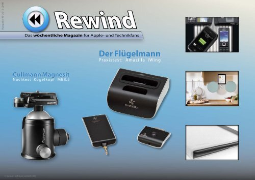 Rewind - Issue 46/2010 (249) - MacTechNews.de - Mac Rewind