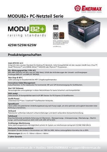 MODU82+ PC-Netzteil Serie - Enermax