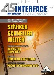 STÄRKER SCHNELLER WEITER - AS-Interface