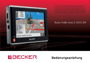 bda becker traffic assist z203