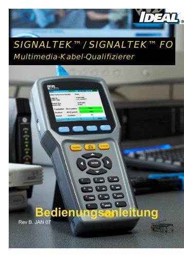 SIGNALTEK Users Guide V2.0 German_Final - Ideal Industries Inc.