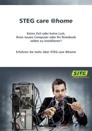 STEG care home de.indd - Steg Electronics AG