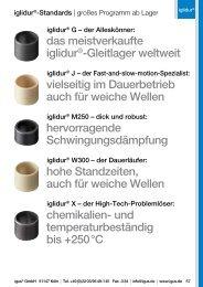 das meistverkaufte iglidur®-Gleitlager weltweit vielseitig im - Igus