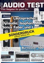 Audio Test Sonderdruck 03/12 (PDF) - GAUDER AKUSTIK