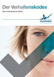 Der Verhaltenskodex - AkzoNobel