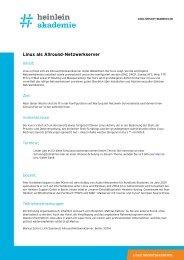 Linux als Allround-Netzwerkserver - Heinlein