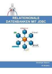 Relationale Datenbanken mit JDBC - Suesens.info