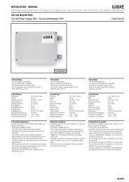 350 mA Netzteil IP65 350 mA Power Supply IP65 · 350 mA ...