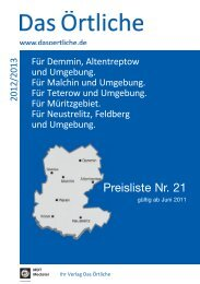 Preisliste als PDF Download - MDT Mediatel GmbH & Co. Kg