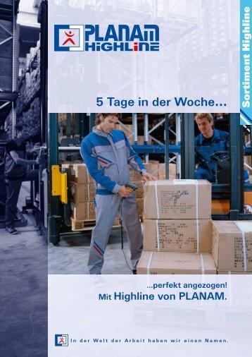 Sortiment HIGHLINE - Marlene Enkirch GmbH
