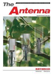 99810498; The Antenna - Edition Winter 2006/2007 - Kathrein