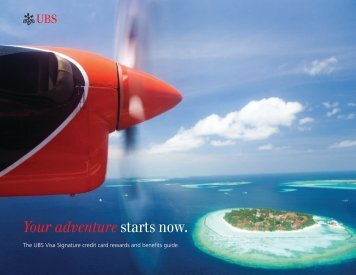 Your adventure starts now. - UBS Wealth Management