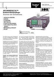 AR-8600DX(C4) - Boger Electronics