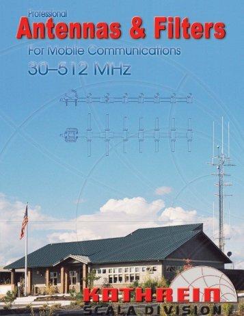 Kathrein Scala 30-512 MHz Catalog C28 - Kathrein Inc. Scala Division
