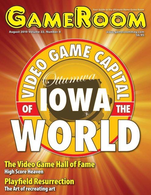 GameRoom Magazine - International Video Game Hall of Fame
