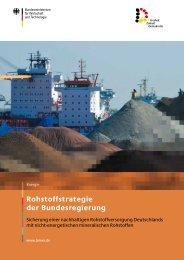 Rohstoffstrategie der Bundesregierung - Medico International