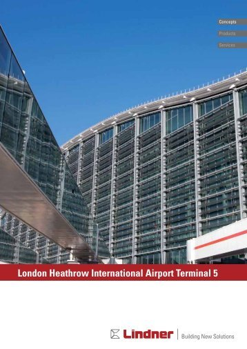London Heathrow International Airport T5 - LINDNER