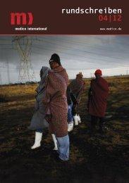 medico-Rundschreiben 04/2012 - Medico International
