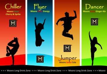 Longdrinkkarte - Mooro