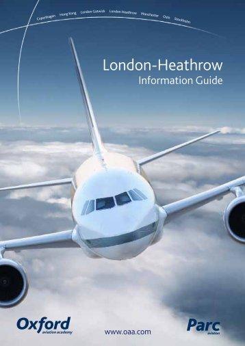 London-Heathrow - Oxford Aviation Academy