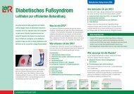 Diabetisches Fußsyndrom - Lohmann & Rauscher