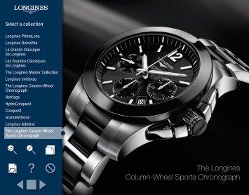 The Longines Column-Wheel Sports Chronograph