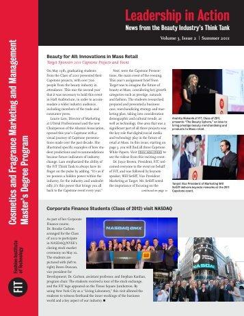 Volume 3, Issue 2   Summer 2011 - Fashion Institute of Technology