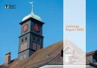 Leistungsreport 2005 - Industrielle Betriebe Langenthal