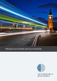 Download our company brochure - Intangible Business