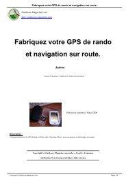 Fabriquez votre GPS de rando et navigation sur ... - Old Jimbo's Site