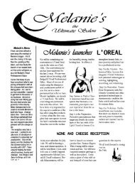 L'OREAL - Melanies The Ultimate Salon