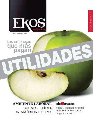 a-f ekos web• - Revista EKOS