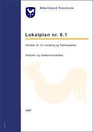 Albertslund Kommune lokalplan nr. 6.1