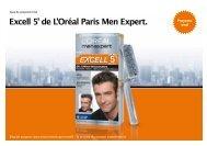 Excell 5' de L'Oréal Paris Men Expert. - trndload