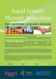 Rapid Growth Through Innovation - Xpert Communications