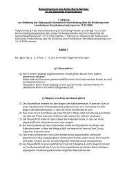 1. Satzung zur Änderung der Satzung der Gemeinde