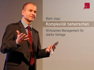 Komplexität beherrschen - MSP Medien Systempartner