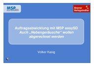 Volker Kasig/MSP - MSP Medien Systempartner GmbH & Co. KG