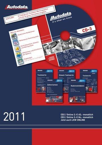 Autodata Katalog inklusive Bestellschein - Rösner KFZ Werkzeuge