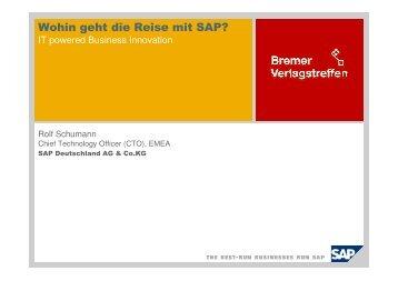 Wohin geht die Reise mit SAP (7,1 - MSP Medien Systempartner