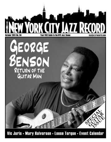 Return of the Guitar Man - The New York City Jazz Record
